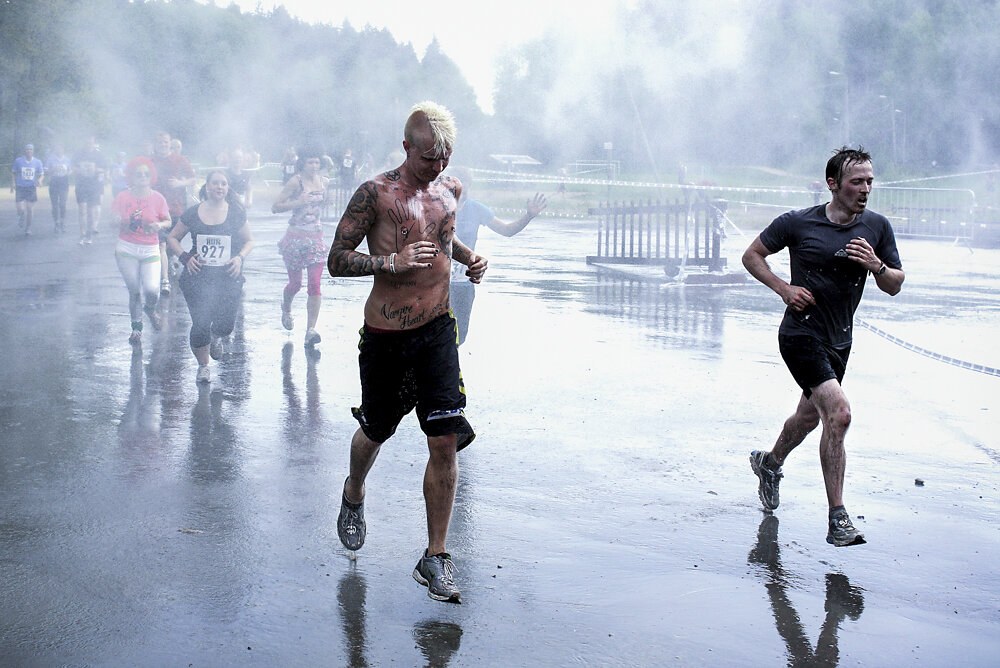Extreme Run in Vantaa, Finland, 2010.